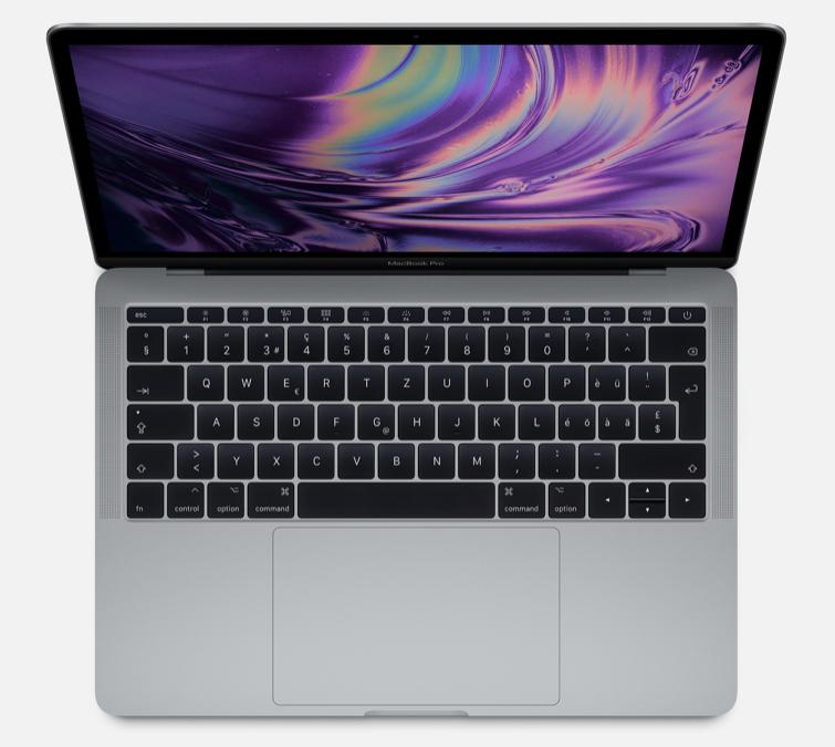 Programme de remplacement de la batterie du MacBook Pro 13 pouces (sans Touch Bar)