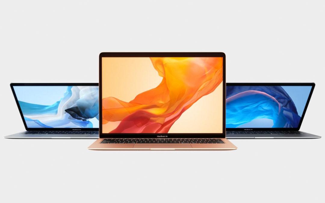Macbook Air mis à jour !