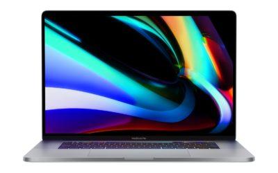 Nouveaux MacBook Pro 16 pouces