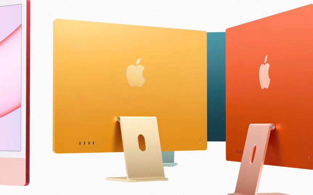 Nouvel iMac 24 pouces – Puce M1